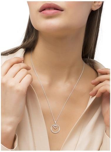 Amor A 2026071 925 Ayar Zirkonlu Kalp Kadın Kolye Renksiz